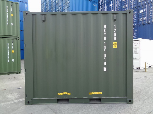 container 10 rightside