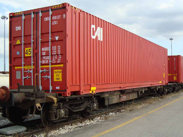 Container 45' HC Pallet Wide